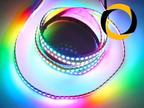 Ascending Composites RGB LED Stripe WS2812B LEDs (60 LEDs/m) schwarz 2 Meter (Spielzeug M 60)