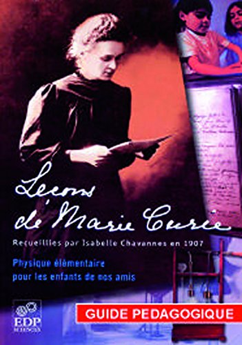 Leçons de Marie Curie - Guide pédagogi...