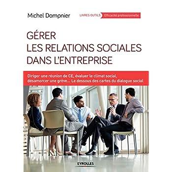 Gérer les relations sociales dans l'entreprise: Diriger une réunion de CE, évaluer le climat social, désamorcer une grève...Les dessous des cartes du dialogue social.