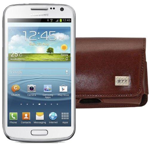 MTT Original Quer-Tasche mit Gürtelclip und Sicherheitschlaufe für Samsung Galaxy Premier i9260...