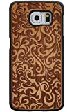 XIKEZAN Samsung Galaxy Note 5 Wooden Cases,Unique Shockproof Handmade Natural Genuine Wood Case with Hard PC Snap On Cover Bamboo Case for Samsung Galaxy Note 5 Pattern