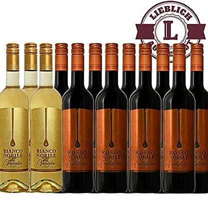 Bianco-3-et-Rosso-9-Noblile-alla-Vaniglia-et-Cioccololata-12x075l-VERSANDKOSTENFREI