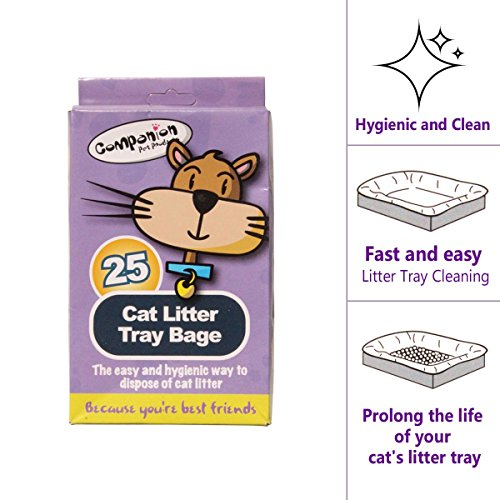 Einlage für Katzentoiletten zur Entfernung von Streu und Abfall. Hygienische Haustierpflege, leicht zu reinigen (1).