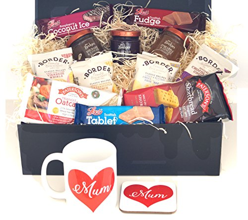 Mothers Day Hamper with mug and coaster set - A perfect gift for your mum on Mothers Day, her birthday or just to say I love you!