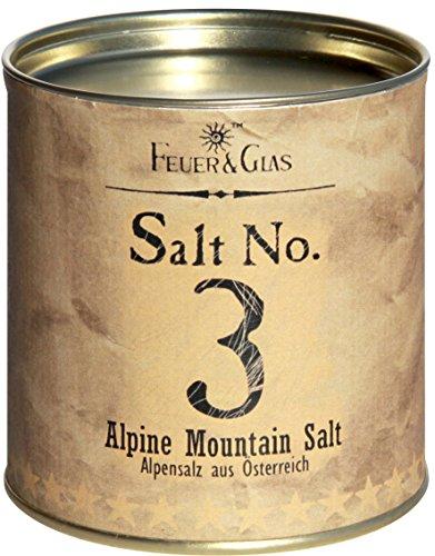 Alpensalz aus Österreich - Alpine Mountain Salt No. 3 - Gourmet Salz aus den Alpen – Ideal als...