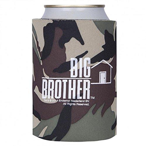 Kostüm Cola Dose - Big Brother Dosen und Flaschen Kühler , Bierkühler , Oliv-Braun , Neu & originales Merchandise aus den USA