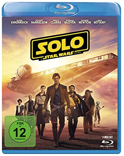Solo: A Star Wars Story [Blu-ray] (Star Wars Blu-ray Set)