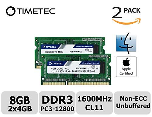 Timetec Hynix IC Apple DDR3 1600...
