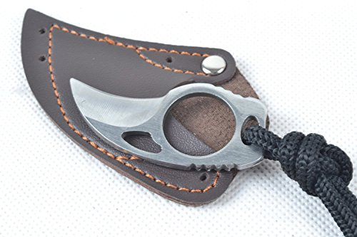 Stahl Finger Klaue Messer Haken Fixed Blade Messer Werkzeug für Camping Jagd Outdoor