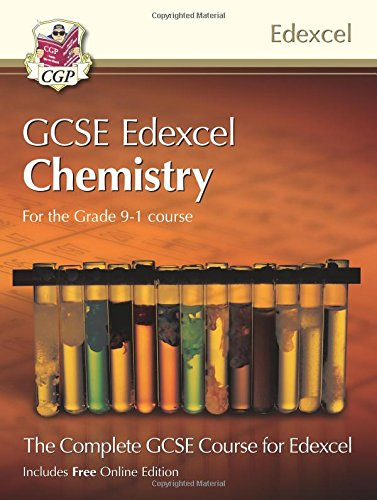 New Grade 9-1 GCSE Chemistry for Edexcel: Student Book with Online Edition (CGP GCSE Chemistry 9-1 Revision)
