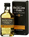 Highland Park 12 Jahre Single Malt Scotch Whisky (1 x 0.05...