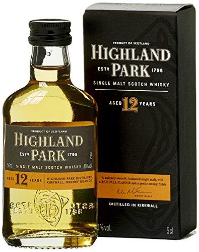 Highland Park 12 Jahre Single Malt Scotch Whisky (1 x 0.05 l)