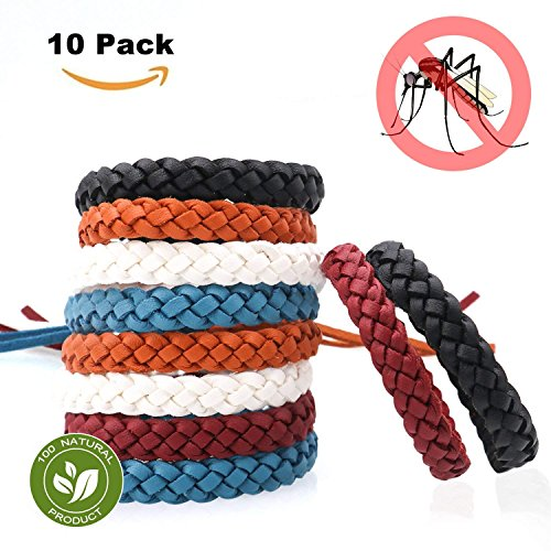 (MückenschutzTropenMückenschutzArmband-MoskitoschutzArmbandInsektenschutzArmband10StückDeetmückenschutzRepellentArmbänderInsektenschutzNatürlicheMückenschutzfürKinderundErwachsenen)