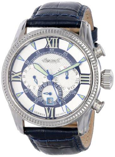 Ingersoll Men's IN3213BL Bel Air Analog Display Automatic Self Wind Blue Watch