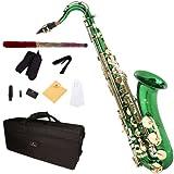 Cecilio TS-280GL Saxophone Ténor SiB Vert