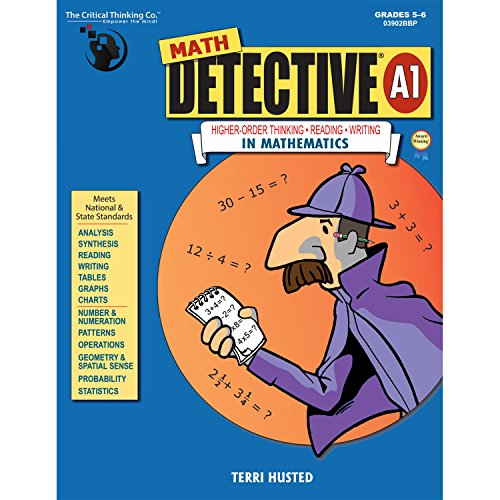 Math Detective A1: Highter-order Thinking-reading-writing in Mathematics por Terri Husted