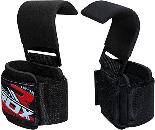 Rdx fitness palestra gancio cinghie sollevamento pesi fasce supporto polso peso bodybuilding