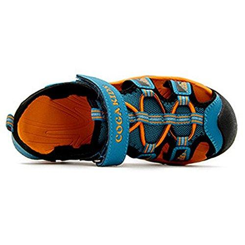 99ed242dd63a7e ... SITAILE Kinder Schuhe Geschlossene Sandalen Outdoor Sportshuhe  Walkingschuhe Blau ...