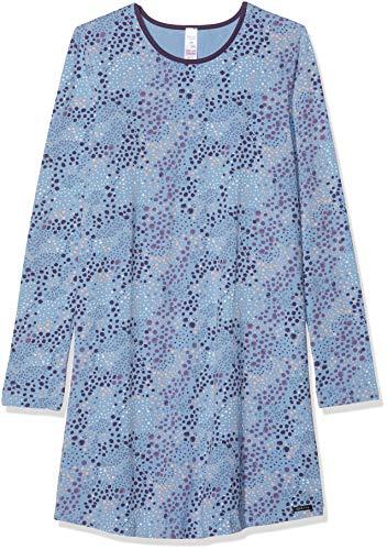 Skiny Mädchen Cosy Night Sleep Girls Sleepshirt Langarm Nachthemd, Mehrfarbig (Allure Leo 2164), Herstellergröße: 152