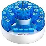 QHGao Low-Key 31 Giorni Kit di Stoccaggio di Droga, Supplemento di Vitamina di Droga Adatto per Viaggi Grande Distributore per Portafoglio,31 Gennaio Scatola di Plastica Pillola di Plastica