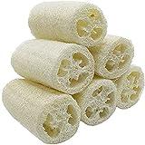 VOARGE 6 Stücke Premium Qualität Natürliche Luffa, Luffa-Schwamm Spa Peeling Scrubber Luffa Body Wash Schwamm entfernen abgestorbene Haut Küche Reinigungsmittel für Haushalt (ca. 4