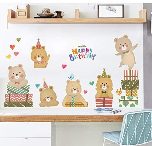 eative Schlafzimmer Wohnzimmer Sofa Hintergrund Wandaufkleber personalisierte Shop Wanddekorationen große Wandmalerei ()