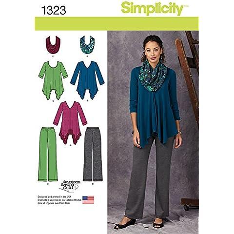 Simplicity Tamaño de 1323R5