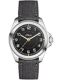 s.Oliver Unisex-Armbanduhr Analog Quarz Textil SO-3131-LQ