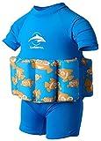 Konfidence Badeanzug mit Schwimmhilfe 12-18 Monate Blau - Clownfish