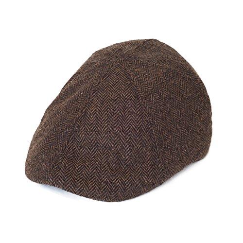 Kopfbedeckungen für Männer Frauen Damen Unisex Flache Schiebermütze Abschlüsse 'Paper Boy (Paper Boy Hut)