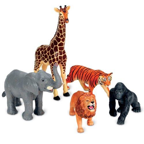 Preisvergleich Produktbild Learning Resources Große Urwaldtiere,