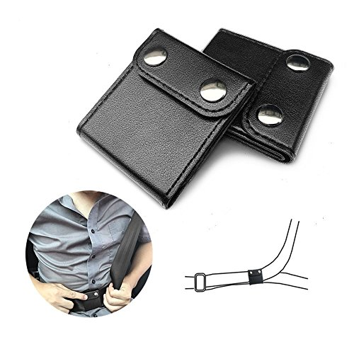 Gurte Einstellknopf, Universal Auto Riemen Positionierer Einstellknopf für Gurte (2 Pack)