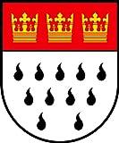 Aufkleber Köln Wappen Schild Sticker Autoaufkleber