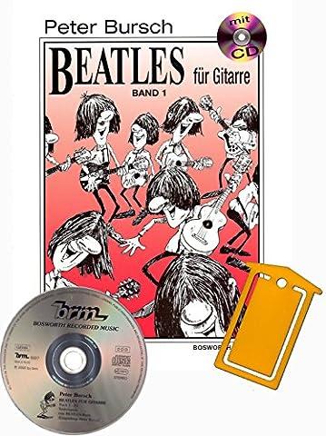 Peter Bursch BEATLES für Gitarre Band 1 – Das Lehrbuch