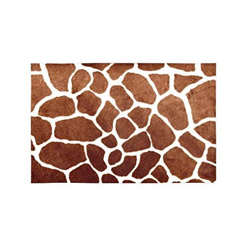 Tiadi Giraffe Spot Haut Print Animal Tisch-Sets Tischset Set von 4, Tischset für Küche Esstisch Restaurant Home Decor 30,5 x 45,7 cm
