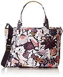 Oilily Damen Diaper Bag Schultertasche, Grau (Charcoal), 16x31x42 cm