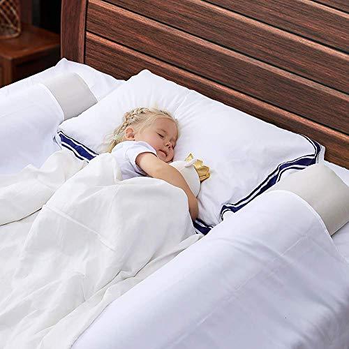 OlarHike Bettgitter für Kleinkinder, 2er-Pack, aufblasbar und wasserabweisend, für Zuhause, Reisen