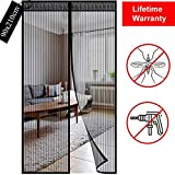 Fly Insect Screen Door Magnetic: Mesh Retractable Door Curtain - Keeps Mosquitoes Insects