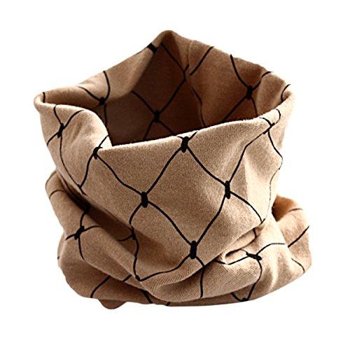 chen Weiche Warme Schal Baumwolle O Ring Halstücher Herbst Neck Warmer Nette Drucke Infinity Schal (Herren-infinity-schal Fleece)