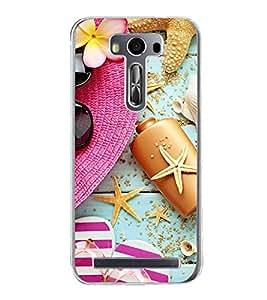 PrintVisa Relaxing High Gloss Designer Back Case Cover for Asus Zenfone Selfie ZD551KL
