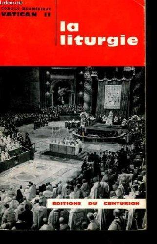 Constitution de la Sainte Liturgie (de sacra liturgia).