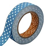 Dailylike lkt112Gaffa-Stoff gepunktet Baumwolle blau