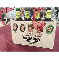 Caja de Madera KADABRA Pack degustación 12 unidades de 33cl