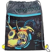 Under cover sacchetto porta scarpe, Transformers, circa 40x 32x 0.5cm Sacca, 40cm, Grigio
