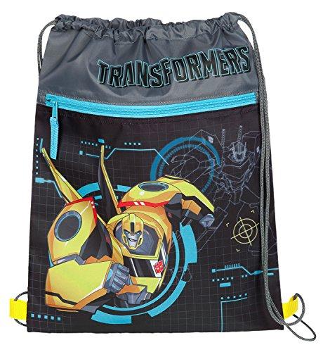 Undercover TFUV7293 Kindergartentasche, Transformers, ca. 21 x 22 x 8 cm Schuhbeutel