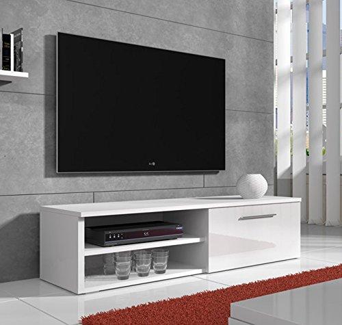 Lettiemobili –Mobile TV modello Danao bianco 100cm