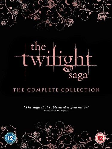 Twilight Saga: The Complete Collection (5 Dvd) [Edizione: Regno Unito] [Edizione: Regno Unito]
