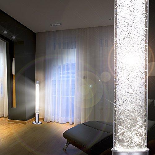 MIA Light Glitter ↥760mm/ Retro/Chrom/Leuchte Glitterlampe Glitterleuchte Lavalampe Lavaleuchte Magmalampe Magmaleuchte