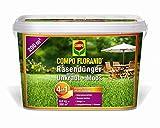 COMPO Floranid Rasendünger gegen Unkraut + Moos 4in1, 6 kg