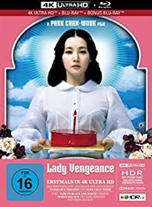 Lady Vengeance - 3-Disc Limited Collector's Edition im Mediabook (4K Ultra HD/UHD + Blu-Ray + Bonus-Blu-Ray